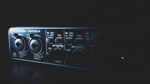 Audio Interface Anschlüsse